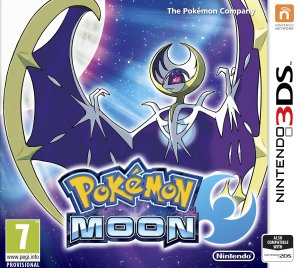 Pokémon Moon Box Art
