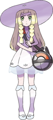 Lillie, Professor Kukui's assistant