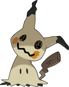 Mimikyu, the Disguise Pokémon