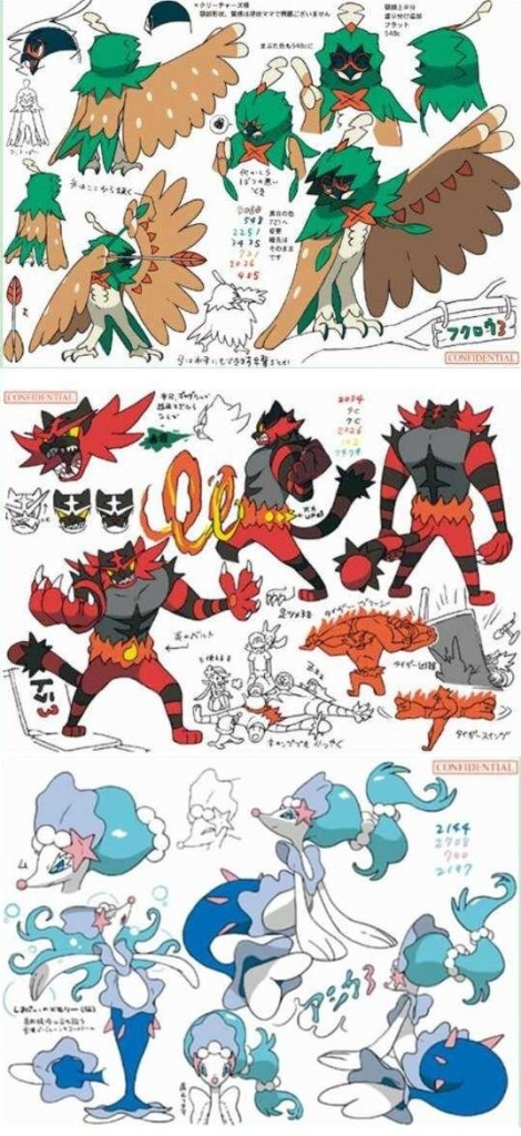 pokemon-sun-moon-starter-evolutions