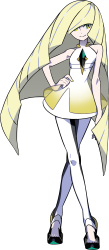 Aether Foundation President Lusamine