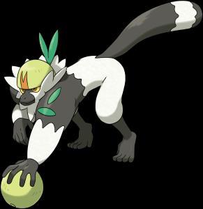 Passimian, the Teamwork Pokémon