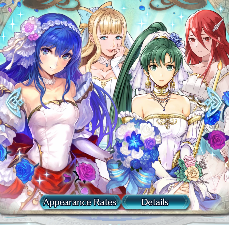 June brides in Fire Emblem Heroes and the luckiest roll