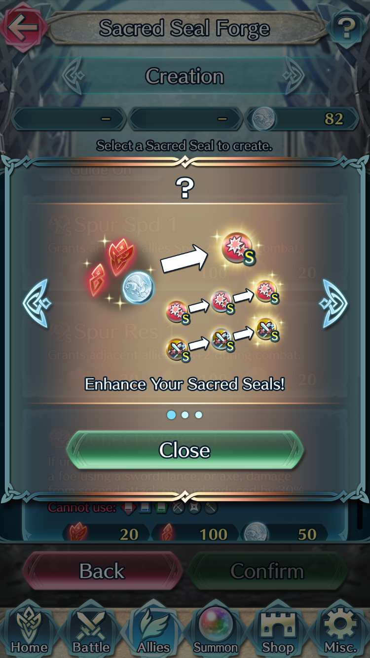 Fire Emblem Heroes Version 1.8: Forging withDragons