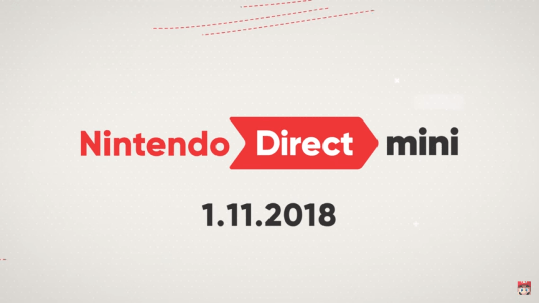 My thoughts on the January 2018 Nintendo Direct Mini