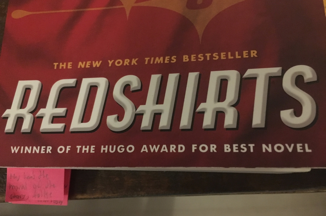 'Redshirts': My latest spark of inspiration