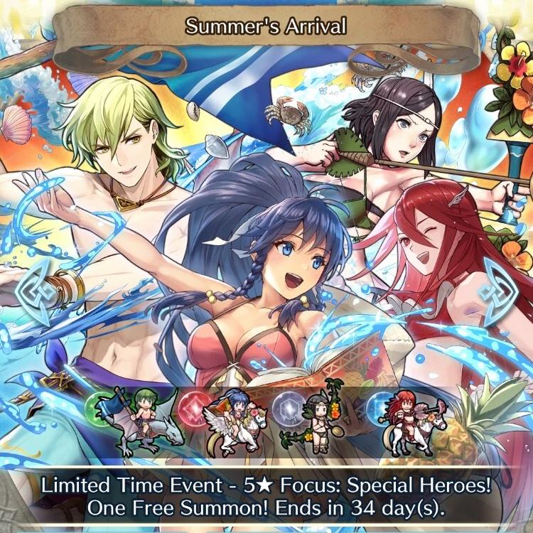 The Fire Emblem Heroes Sacred Summer –Interrupted!
