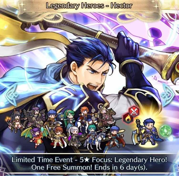 Hector's Here in Heroes (again)