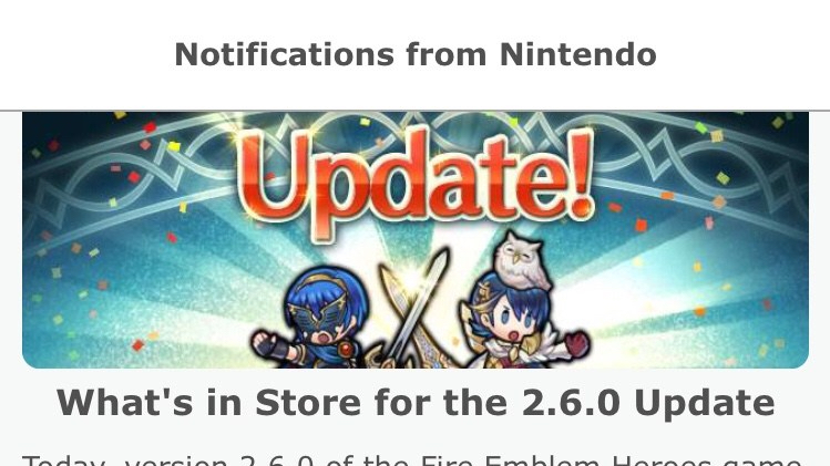 Fire Emblem Heroes Version 2.6.0: Masks and Menu Mayhem