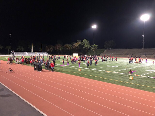 Strange Associations: Irvine band competition edition