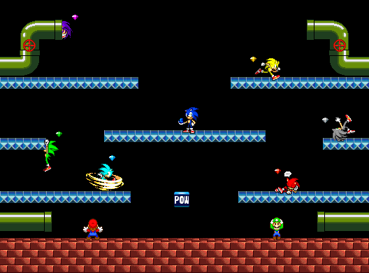 SSBB Battle Mario Stage2