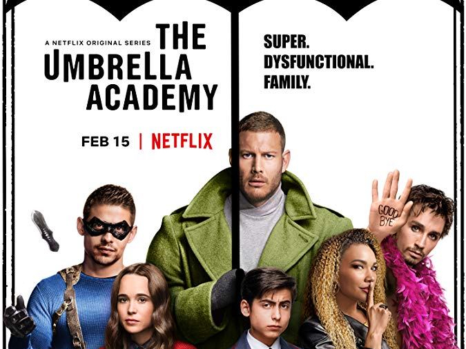 The Umbrella Academy precipitates to the top